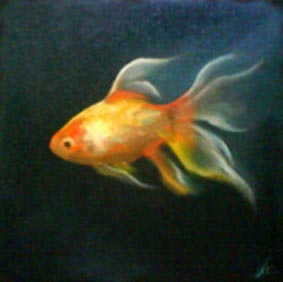 Oil goldfish